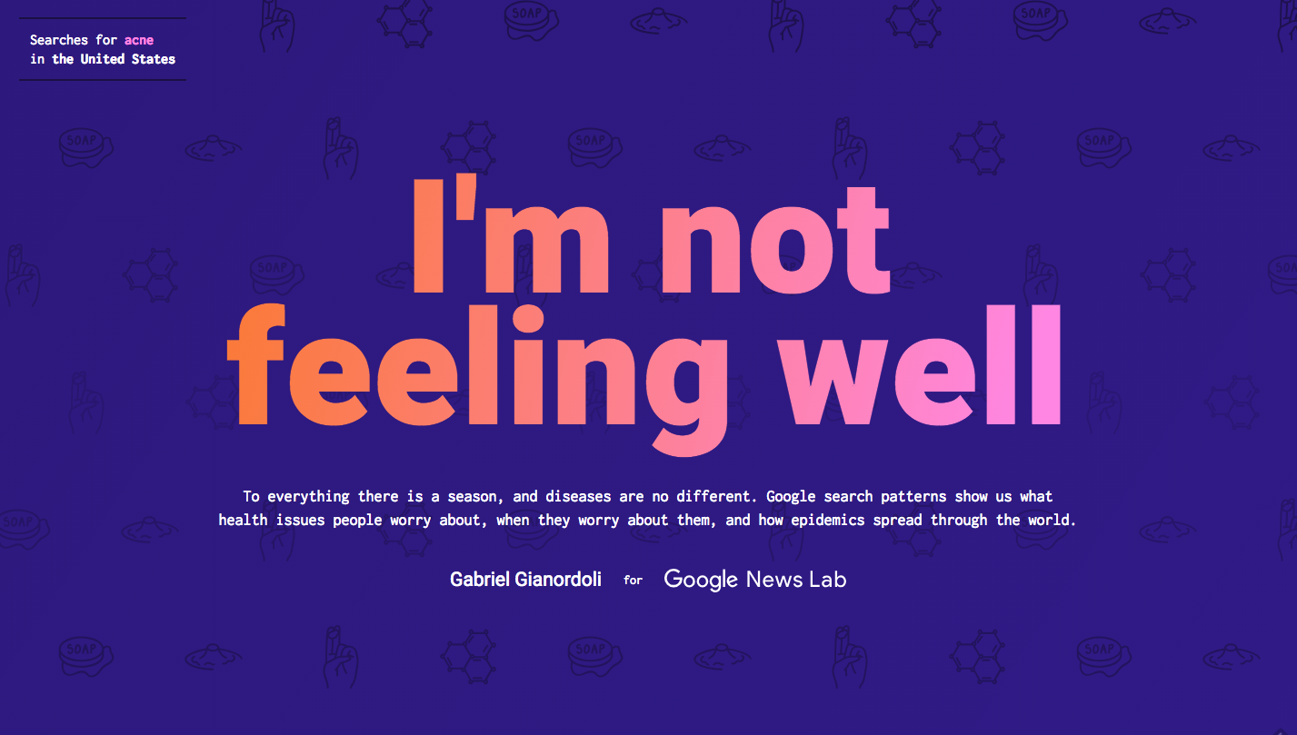 Im Not Feeling Well Information Is Beautiful Awards