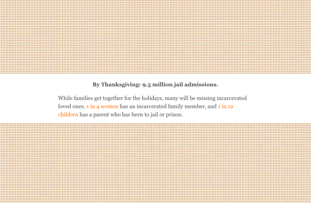 Artist Collaboration: Visualizing 10 6 Million Jail